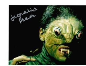Jacqueline Pearce The Reptire from Hammer Horror 10 X 8 genuine signed autograph